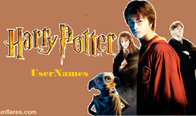 Harry Potter Usernames for amazing harry potter fans