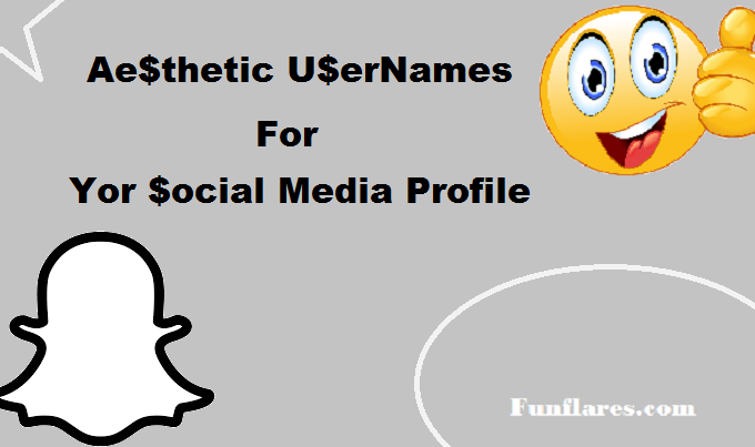 Aesthetic Usernames for your Social Media Profile